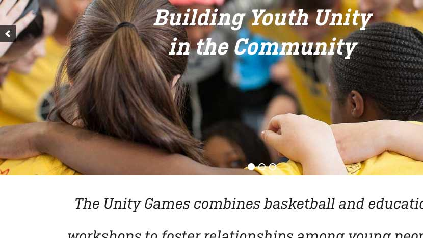 website theUnityGames.com