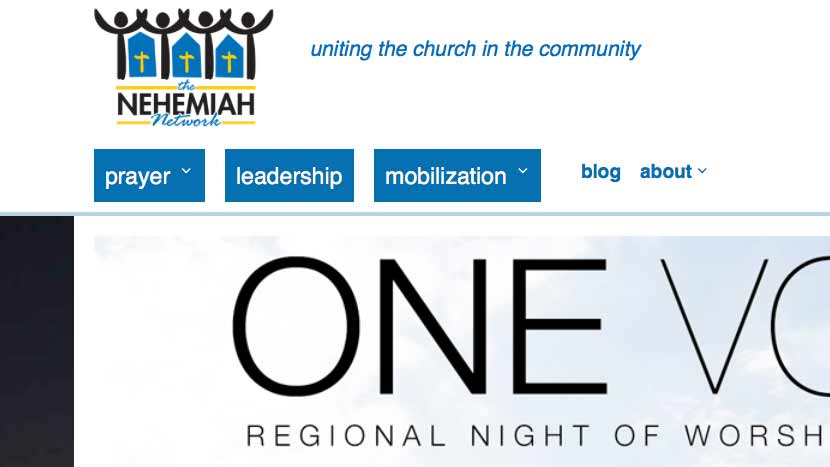 Website for the Nehemiah Network