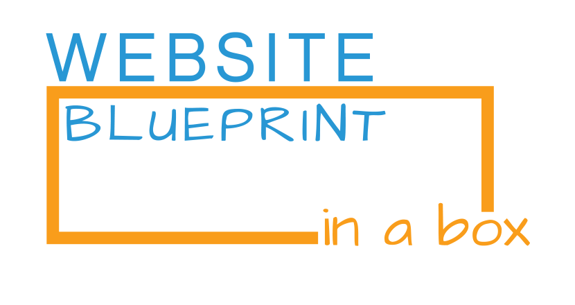 website blueprint in a box logo