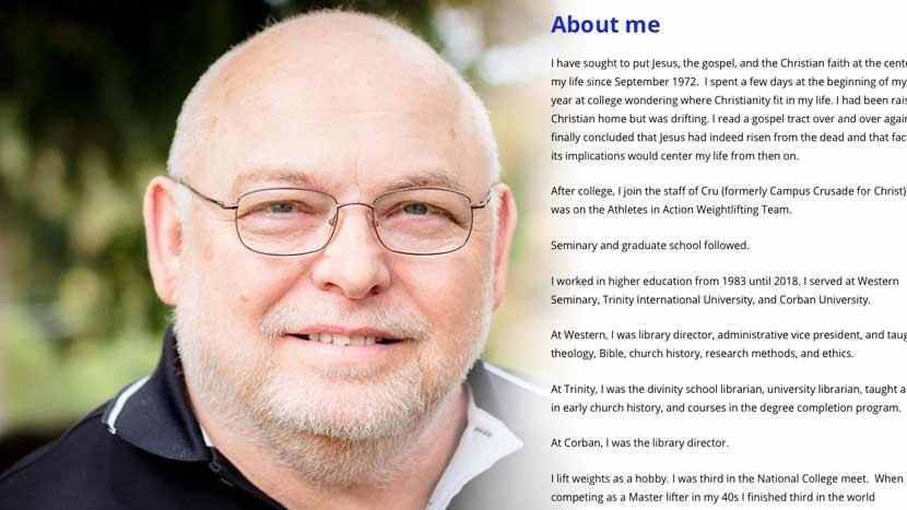 Robert Krupp website screenshot